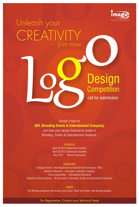 Image conducting a logo design competition across all Logo design competitions